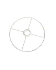 Zodiac Bumper Wheel Medium White