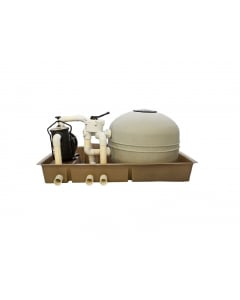 Eartheco Pump and Filter Combi Unit - 3 bag / 0.75kW
