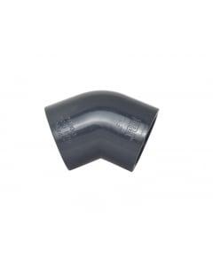 PVC Fitting 45° Elbow 63mm