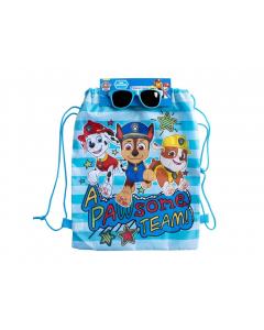 Paw Patrol Boys Drawstring Bag and Sunglasses