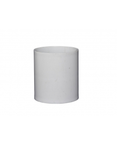 Connector PVC 50mm - White