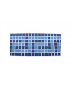 Fibreglass Mosaics Greek Key Blue/Blue