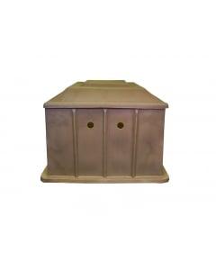 Pump Box Brown - 900 x 900 x 700mm
