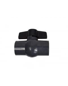 PVC Ball Valve 50mm (no union compact)